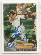 Mike Mcdade Signed autographed Card 2010 Topps Pro Debut - $9.50