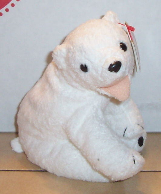 Ty Aurora The Polar Bear Beanie Baby Plush and 50 similar items de3f62c9becf