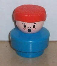 Vintage 90's Fisher Price Chunky Little People Bill figure #2560 FPLP - $5.90
