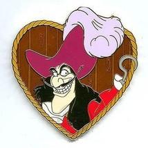Surprise Pin - Disney Villains Heart Collection - Captain Hook LE 1000 VHTF - $18.70