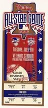 1996 MLB Baseball All Star Game Full Ticket Philadelphia - $123.75