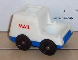 Vintage 80's Fisher Price Little People Mail Truck #2500 FPLP - $5.90