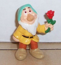 Disney Snow White Bashful Dwarf Pvc Figure By Applause Vhtf - $9.50