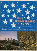 1965 MLB Baseball All Star Game Program Twins - $163.63