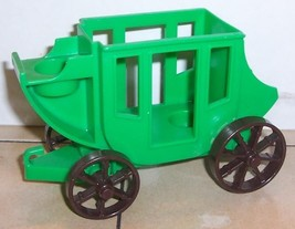 Vintage 80's Fisher Price Little People Stagecoach #934 FPLP Wester Town - $21.37