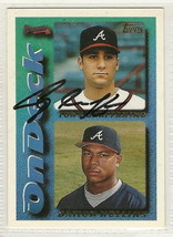Tony graffanino signed autographed card 1995 topps - $9.90