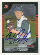 chad drvella signed autographed card 2005 bowman chrome prospects - $9.50