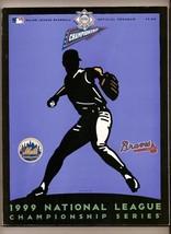 1999 NLCS Program Mets Braves Championship - $42.08