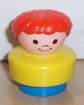 Vintage 90's Fisher Price Chunky Little People Dolly #2359 2364 2372 fig... - $5.90