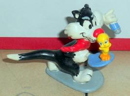 Vintage 80's  Warner Brothers Sylvester & Tweety Bird PVC Figure VHTF Rare - $14.03