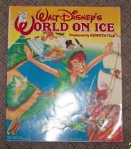 1990 Walt Disney's World On Ice Peter Pan Program vintage Rare OOP - $44.55