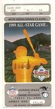 1989 MLB baseball All Star Game Ticket Stub Angels - $88.83