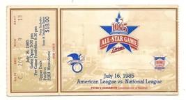 1985 MLB Baseball All Star Game Ticket STub Minnesota Twins - $88.83