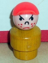 Vintage 80's Fisher Price Little People Yellow Boy w/p #930 996 997 - $11.30