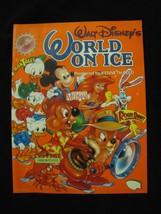 1991 Walt Disney's World On Ice Program vintage Rare OOP - $44.55