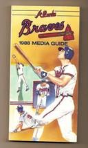 1988 Atlanta Braves Media Guide MLB Baseball - $18.70