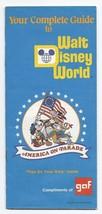 1975 GAF Walt Disney World Guide book - $46.75
