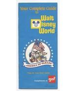 1975 GAF Walt Disney World Guide book - $49.50
