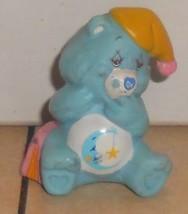 1984 Kenner Care Bears Bedtime Bear Mini Pvc Figure Vintage 80's #3 - $14.00