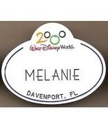 Walt Disney World Cast Member Name tag Melanie Rare Vintage VHTF - $23.38