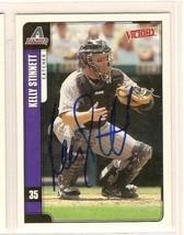 kelly stinnett signed autographed baseball Card Upper Deck Victory - $9.90