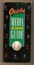 1988 Baltimore Orioles media Guide MLB Baseball - $18.70