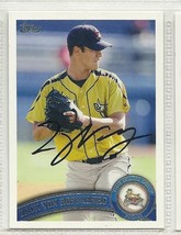Zach Von Rosenburg signed autographed card 2011 Topps Pro Debut - $9.50