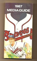 1987 Atlanta Braves Media Guide MLB Baseball - $18.70