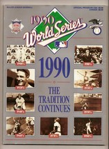 1990 World Series Program Athletics Reds - $32.73