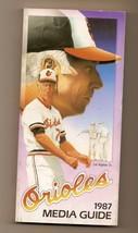 1987 Baltimore Orioles media Guide MLB Baseball - $18.70