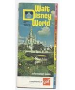 1974 GAF Walt Disney World Guide book - $49.50