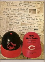 1970 World Series Program Orioles @ Reds - $79.48