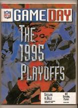 1995 AFC Divisional Playoff GameDay program Bills @ Steelers - $44.55