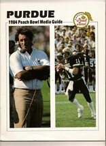 1984 Peach Bowl Game Purdue Media Guide - $51.43