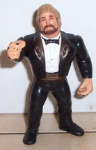1990 Hasbro WWF Series 1 Million Dollar Man Ted DiBiase Action Figure Ra... - $14.03