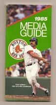 1985 Boston Red Sox Media Guide MLB Baseball - $18.70