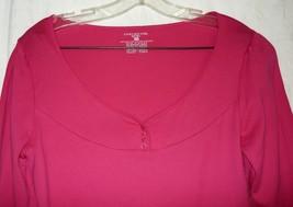 Jones New York Deep Pink Cotton Top M - $5.00