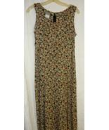 Rayon Floral Sleevless Long Dress Sz. 6 - $10.00