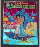 1993 Walt Disney's World On Ice Aladdin Program Vintage Rare OOP - $44.55