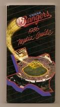 1986 Texas Rangers Media Guide MLB Baseball - $18.70