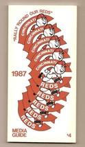 1987 Cincinnati Reds Media Guide MLB Baseball - $18.70