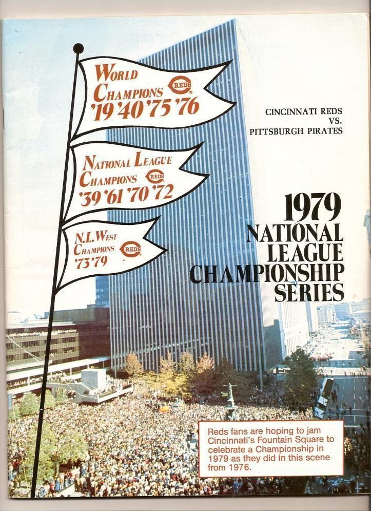 Primary image for 1979 NLCS Game program Pirates @ Reds NL Championship
