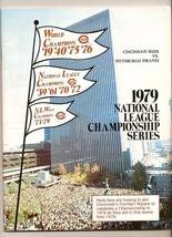 1979 NLCS Game program Pirates @ Reds NL Championship - $44.55