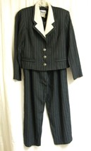 Gray Striped Pant Suit-10P   - $10.00