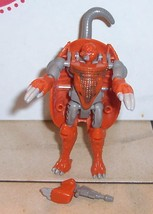 1997 Hasbro Transformers Beast Wars Armordillo Action Figure VHTF - $14.03
