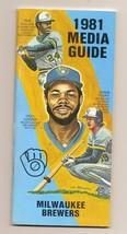 1981 Milwaukee Brewers Media Guide MLB Baseball - $18.70