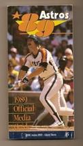 1989 Houston Astros Media Guide MLB Baseball - $18.70