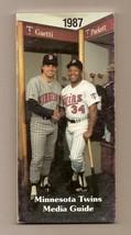 1987 Minnesota Twins Media Guide MLB Baseball - $18.70