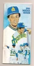 1981 Seattle Mariners Media Guide MLB Baseball - $18.70