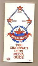 1988 Cincinnati Reds Media Guide MLB Baseball - $18.70